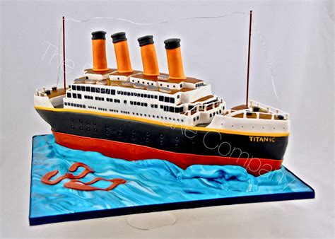 titanic boat company let us recreate your wildest dreams into a fantastic cake
