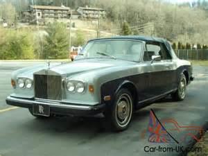 81 Rolls Royce For Sale 1980 Rolls Royce Corniche
