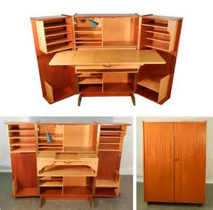 home office desk storage teak and sycamore compact home office desk and storage