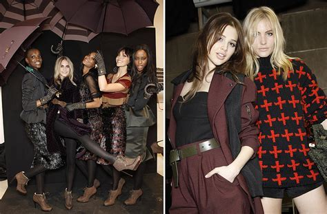 fotos londres invierno en el backstage de la semana de la moda de londres
