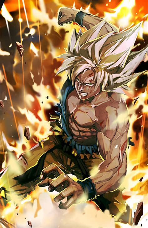 painting goku goku digital paintings the dao of