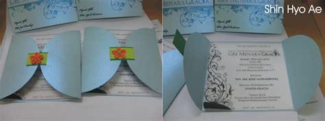 cara membuat undangan ulang tahun yang kreatif kartu undangan hut gereja shinhyoae