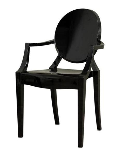 Black Ghost Chair by Black Ghost Chair With Arms Event Avenue Event Avenue