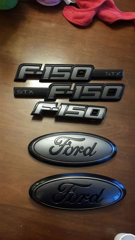 Ford F150 Emblems by 2015 Painted F150 Emblems Ford F150 Forum Community Of