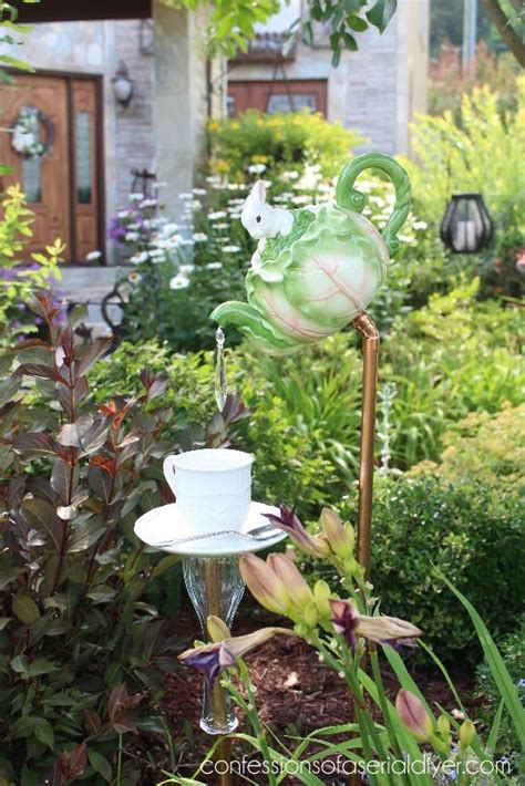 Garden Decoration Ideas Diy 25 Best Ideas About Teapot Crafts On Garden Diy Yard Ideas Projects And