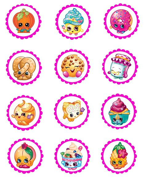 printable stickers for birthday shopkins water bottle labels and water bottles on pinterest