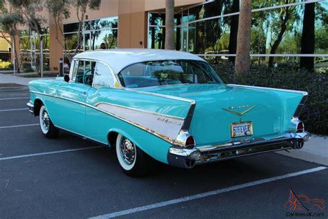 bel air 1957 chevrolet chevy bel air 2 door sport coupe