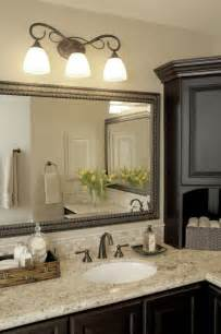 glorious brushed nickel bathroom mirror decorating ideas