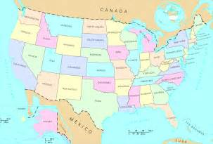 states of america map united states other maps