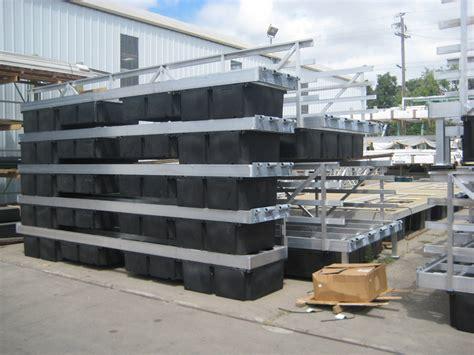 dock sections aluminum dock fingers mid cal construction