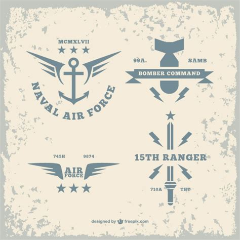 Army logos pack Vector   Free Download
