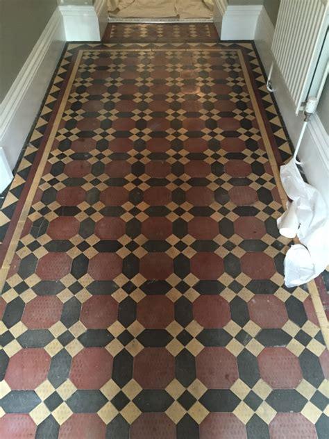 Victorian Tiled Hallway Restoration in Bridlington   Tile