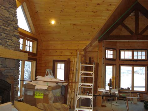 White Pine Tongue And Groove Ceiling by Shrinkage In A Tongue And Groove Pine Ceiling