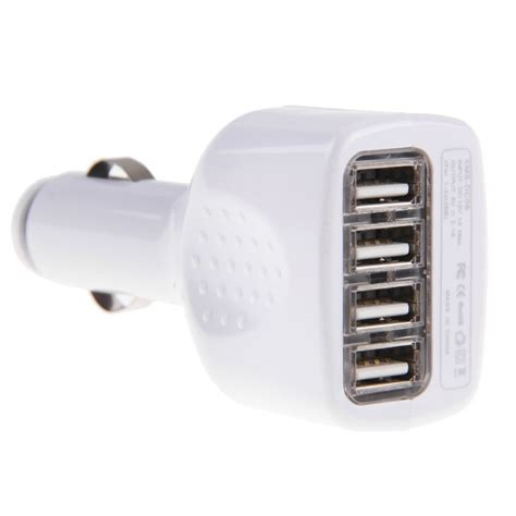 4 Port Usb Car Charger by 4 Port Usb Car Charger Adapter Micro Usb Cable For