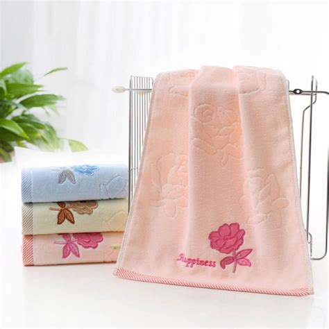 hand towels for bathroom cotton towels soft absorbent bath sheet hand towel