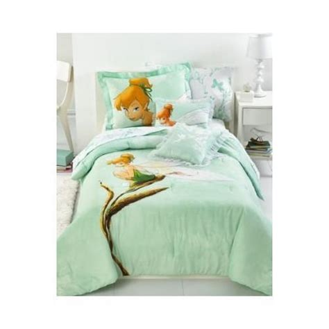 disney tinkerbell tink watercolor full size comforter and