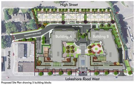 urban design brief pdf topca lakeshore benson high