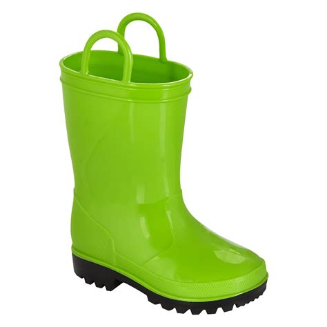 green boots joe boxer toddler arcade boot green