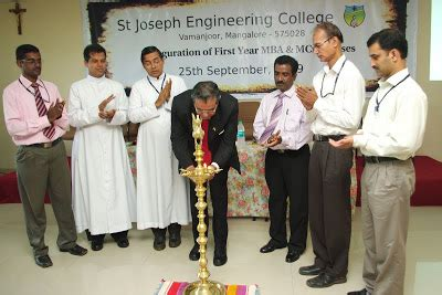St Joseph Executive Mba by Department Of Business Administration Sjec Mba Mca