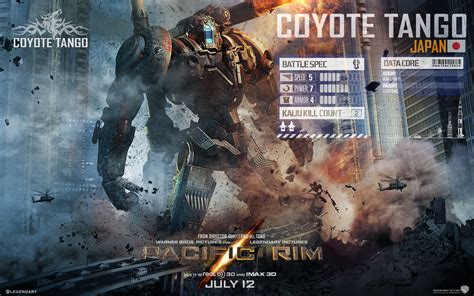 pacific rim coyote tango wallpapers and images