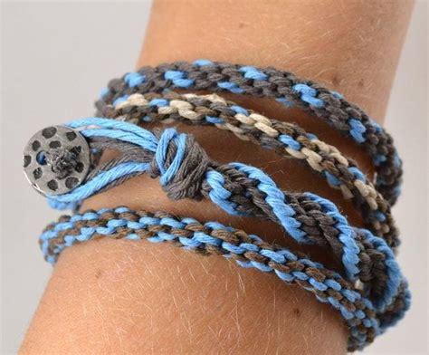 hemp kumihimo bracelet tutorial allfreejewelrymakingcom