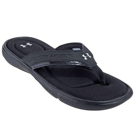 armour sandals armour sandals s 1240267 001 black ignite flip