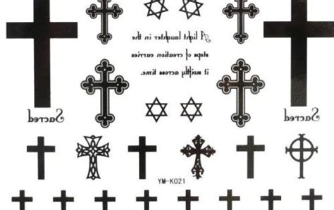 black cross tattoo meaning cross tattoos for and their meanings tattoos