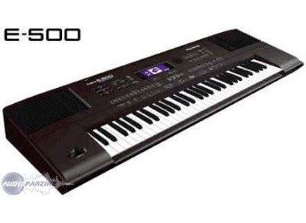 Keyboard Roland E Series user reviews roland e 500 audiofanzine