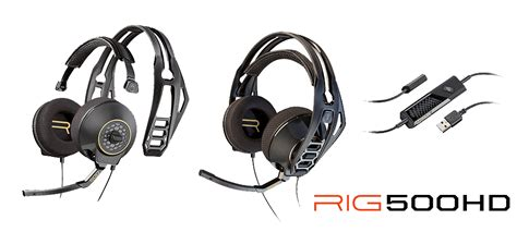 Headset Plantronics Rig 500 Hd plantronics will equip the eswc with headsets at the pgw 2015 eswc