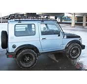 19885 Suzuki Samurai 4x4 Tin Top Roof Rack SUV Hunters