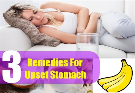 3 home remedies for upset stomach how to calm an upset