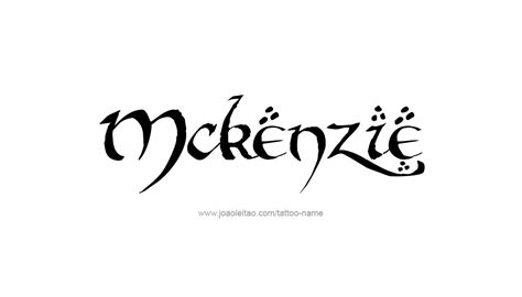 mackenzie tattoo designs in mackenzie tattoos