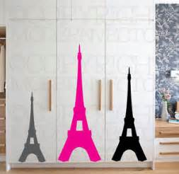 Eiffel Tower Wall Decal Theme Decor Vinyl Wall Eiffel Tower Theme Vinyl Wall Decal Designs Decor