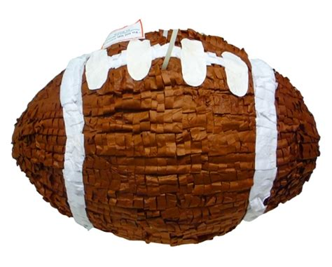 How To Make A 3d Football Out Of Paper - large 3d football pinata