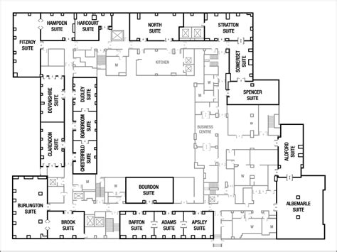 conference room floor plan floor plans grosvenor house a jw marriott hotel meeting