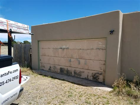 See The Difference This Door Makes On This New Mexico Overhead Door Albuquerque