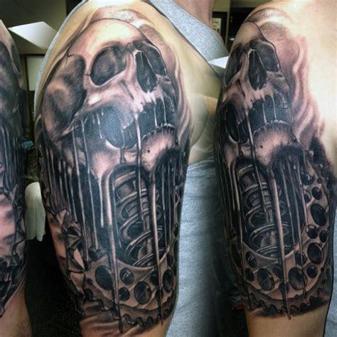 motocross tattoo designs sch 228 mit getriebe und shock motocross m 228 nner