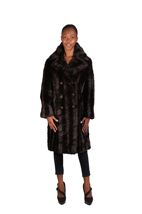 Imitation In 1 jfoc imitation fur coats overcoats
