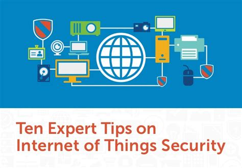 ten expert tips on of things security