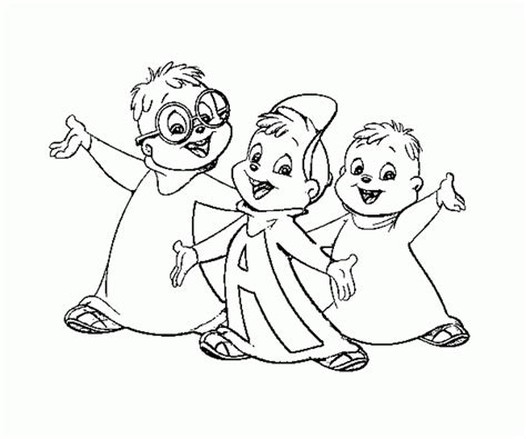alvin and the chipmunks drawings coloring home