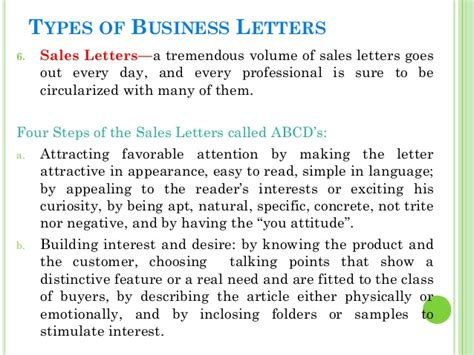 Business Letter Meaning parts of application letter and their definition