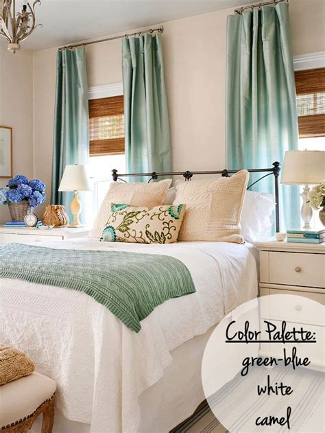 bedroom color inspiration setting for four