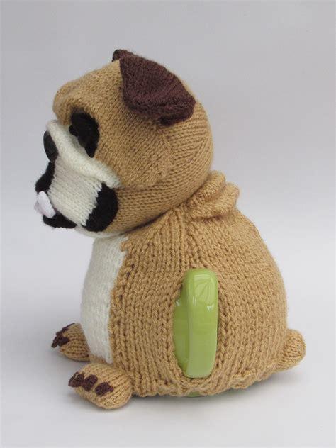 knitting pattern for english bulldog sweater british bulldog tea cosy knitting pattern