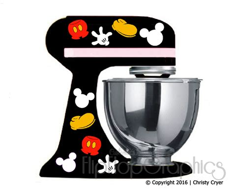 disney kitchen appliances disney mickey mouse pieces for your dark black kitchen mixer