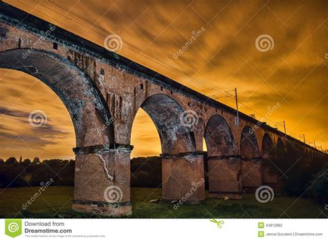 nights hshire twemlow viaduct stock photo image 44812882