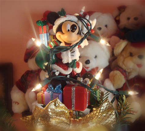 santa mickey mouse tree topper flickr photo sharing