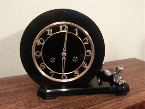 Unusual Clocks art deco mantel clock 270732 sellingantiques co uk