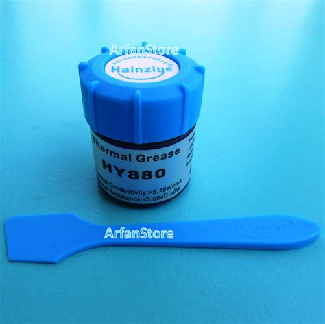 Pasta Pendingin Thermal Grease Hy510 jual 10gr 5 15w m k hy880 thermal grease pasta pendingin paste prosesor arfanstore