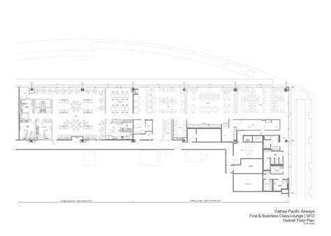 lounge floor plan cathay pacific s sfo lounge expansion an inside look