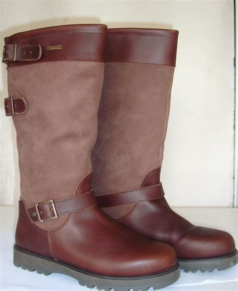 welligogs ranger leather country boot brown
